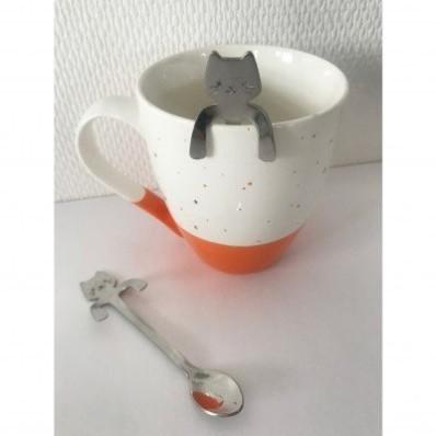 Čajová lžička ve tvaru kočky, sada 2 ks