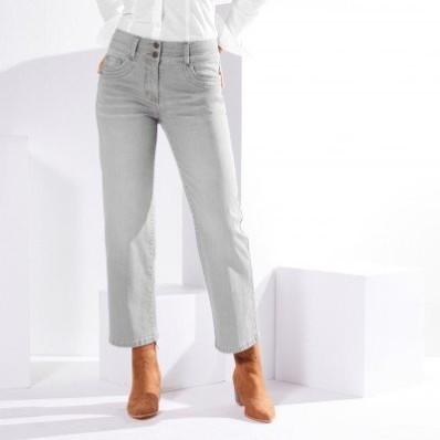 Rovné zkrácené džíny