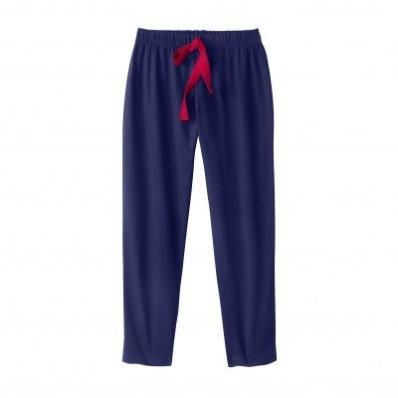 3/4 jednofarebné pyžamové nohavice
