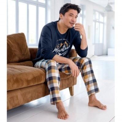 Pyžamové tričko s dlouhými rukávy