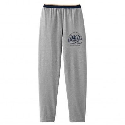 Pyžamové kalhoty, šedý melír