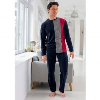 Hebké pyžamo s dlhými rukávmi
