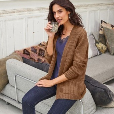 Vrúbkovaný sveter