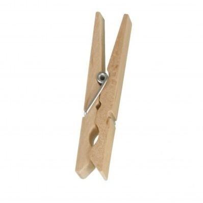Dřevěné kolíčky, sada 50 ks