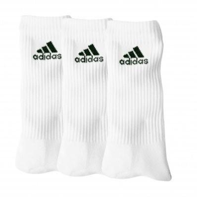 "Bílé ponožky ""crew"" zn. Adidas, sada 3 párů"