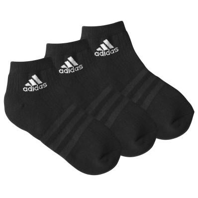 """Kotníkové černé ponožky """"Ankle Crew"""" zn. Adidas, sada 3 párů"""