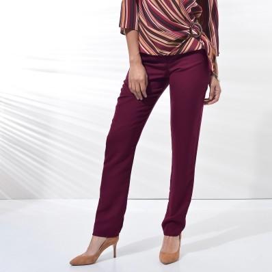 Vzdušné jednofarebné nohavice