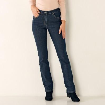Rovné džínsy, vysoká postava