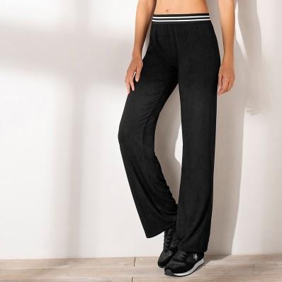 Rovné nohavice s pružným pásom