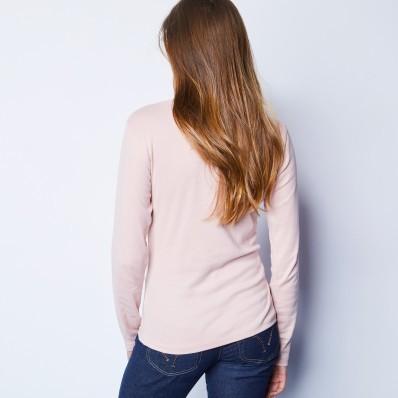 Tričko so stojačikom a dlhými rukávmi