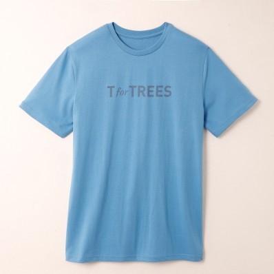 Tričko s potlačou, certifikát Öko-Tex, modré