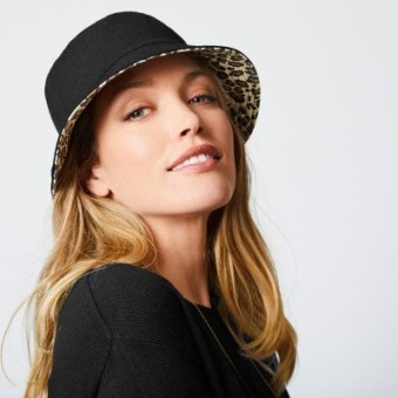 Obojstranný klobúk do dažďa