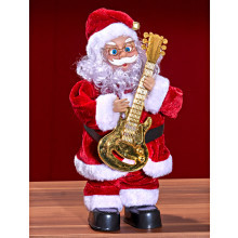 Santa Claus s gitarou