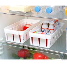 2 koše do chladničky, biela