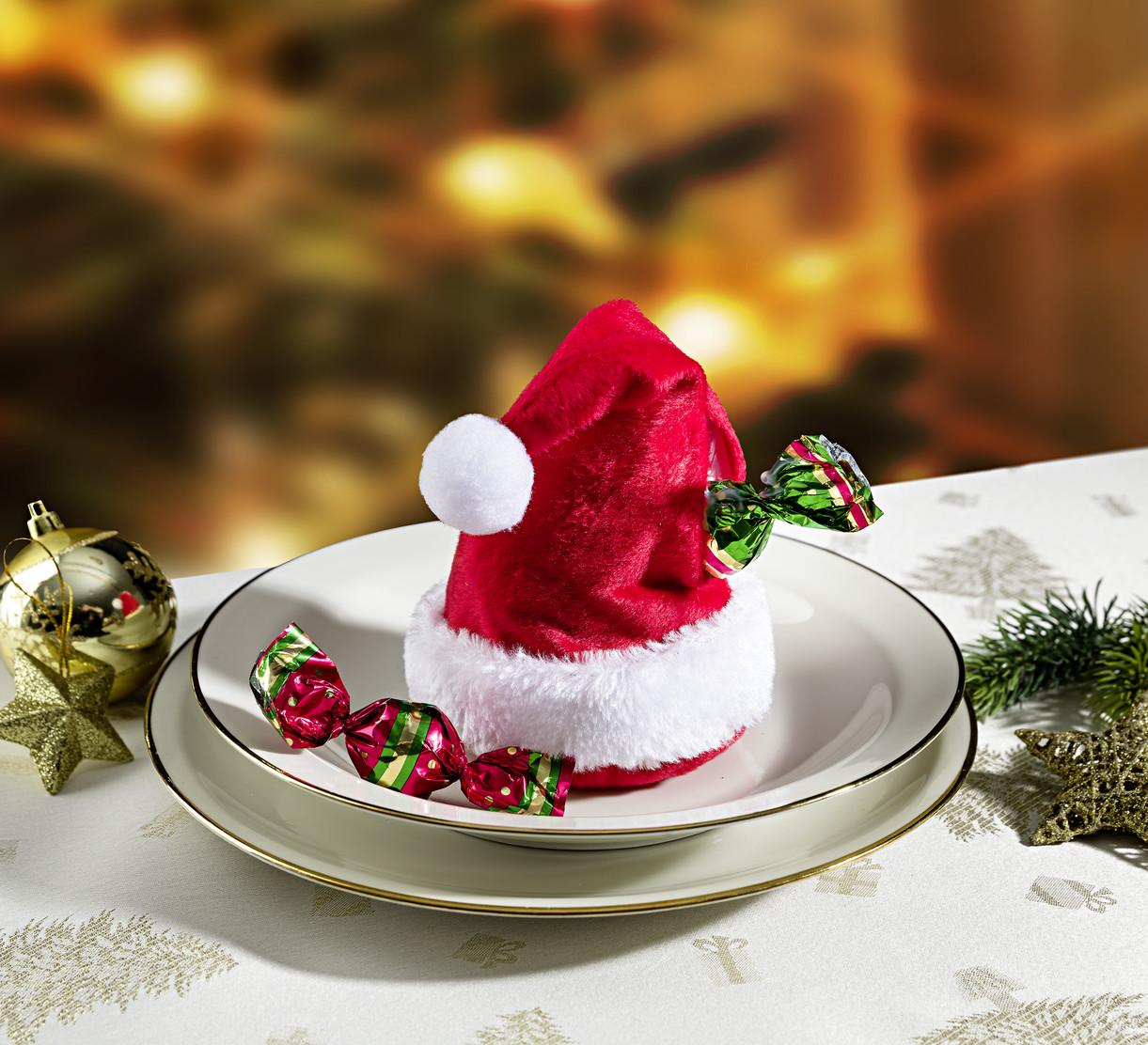 4 czapki Świętego Mikołaja