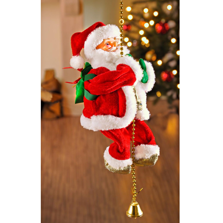 Wspinający się Święty Mikołaj